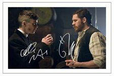 TOM HARDY & CILLIAN MURPHY PEAKY BLINDERS AUTOGRAPH SIGNED PHOTO PRINT