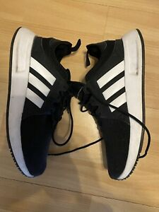 Adidas Originals XPLR black trainers UK4