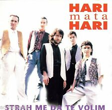 HARI MATA HARI CD Strah me da te volim Album 1996 Sarajevo Bosna Varesanovic Hit