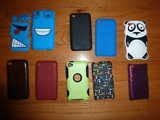 iPod 4 Cases Lot 9 Various Cases Otterbox included