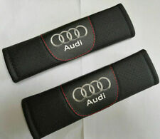 2 Pcs High Quality Car Seat Belt Shoulder Cushion Cover Pad Fit For Audi Auto