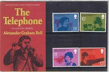 GB Presentation Pack No. 78 The Telephone 1976 MNH 10% OFF FOR ANY 5+