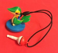 Snivy Screen Cleaner Pokemon Phone Plug Charm Figure Strap Japan Pokeball
