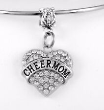 Cheer Mom jewelry cheering mother charm only cheerleader mommy best jewelry gift