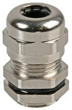 PG-MA PG7 Brass Nickel Plated Cable Gland 4-7mm Dia. - PRO POWER
