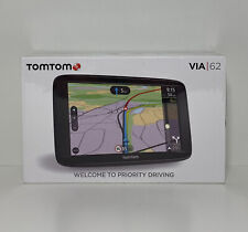 TomTom VIA 62 6-Inch Sat Nav with Lifetime Full Europe Map and Traffic
