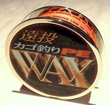 "150m x 15lb Linesystem Japanese ""PE WAX"" Braid - Japanese Quality"