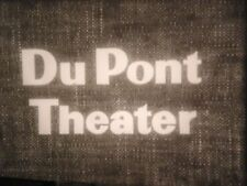 """16mm film DUPONT THEATER """"CALL HOME THE HEART""""& MAYOR OF ST LO T.V. SHOW MOVIE"""