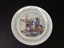 Beautiful Vintage D'Arceau-Limoges Lafayette Legacy Collector Plate Ii