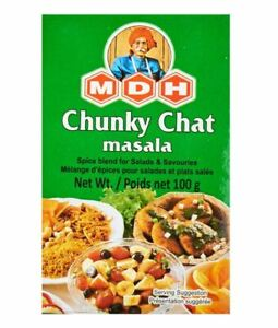 MDH Chunky Chat Masala (Pack of 2) , (Pack of 4) & (Pack of 8).