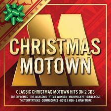 CHRISTMAS MOTOWN 2 CD VARIOUS ARTISTS 2017