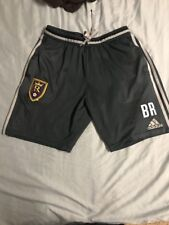 Real Salt MLS Adidas Training Adizero Shorts Worn By Staff