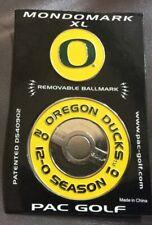 NEW University of Oregon Football 2010 Golf Ballmark XL Mondomark 12-0