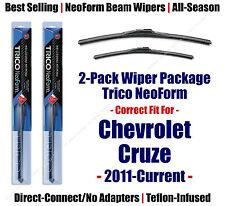 2pk Super-Premium NeoForm Wipers fit 2011-2014 Chevrolet Cruz 16240/180