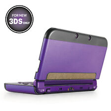 Aluminium Protective Hard Shell Skin Case Cover for New Nintendo 3DS 2015 Purple