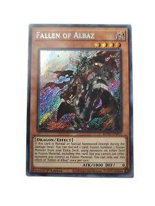Fallen of Albaz ROTD-EN011 1st Edition Secret Rare NM Yugioh