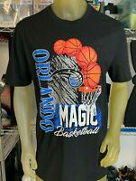 NEW Vintage 90s Look Orlando Magic NBA Basketball T Shirt Mens Multiple Sizes