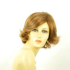 Perruque femme courte blond foncé méché blond clair MARIION F27613