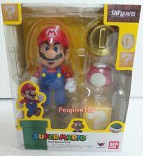 Bandai S.H.Figuarts Super Mario Action Figure wii Bros Nintendo 3ds