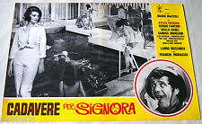 fotobusta originale CADAVERE PER SIGNORA Sylva Koscina Franco Franchi 1964