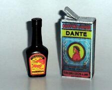 "1:6 scale WW II German ""MAGGI sauce and olive oil"" set"