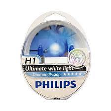 Original Philips H1  Diamond Vision Made in Germany 12258DVS2 [ pick up ]