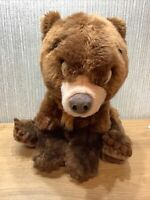 Disney World Brother Bear Plush Large 12 Inch Soft Toy Rare Fluffy Collectable