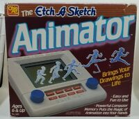 Vintage Etch A Sketch Animator Electronic Animation  Tested No Manual