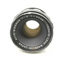 Ricoh Rikenon P 1:2 50mm Lens - Fast Free Shipping - C30