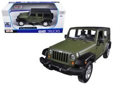 MAISTO SE TRUCKS 1:24 SCALE 2015 Jeep WRANGLER Unlimited DIECAST MODEL CAR BOXED