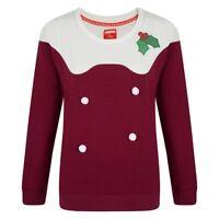Ladies Womens Novelty Christmas Xmas Jumper Sweater Pom Pom Plus Size 18 20 24