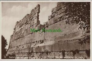 Lebanon Postcard -Baalbek, Les Rrois Grandes Pierras Du Temple Jupiter RS25114