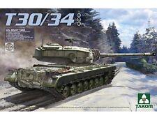 Takom 1/35 u.s. char lourd T30/34 (2 en 1) # 02065
