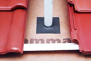 Rohr - Manschette aus EPDM-Gummi für Ø 15-220 mm