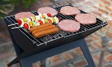 Charcoal Grill Small Folding Portable Outdoor Travel Camping Tabletop Bbq Cooker