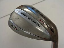 Used Wilson Harmonized Sole Grind 60.10* LW Lob Wedge Wedge Flex Steel RH
