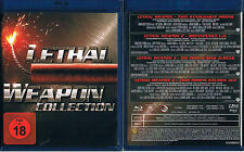 LETHAL WEAPON 1 2 3 4 --- Blu-ray --- Die Collection --- alle 4 Filme + Bonus --
