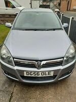 Silver Vauxhall Astra SXI 1.4 2006 Petrol