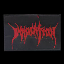 Immolation (USA), Red, Patch