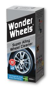 Wonder Wheels WWk500 Super Alloy Wheel Cleaning Kit 500ml