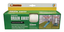 Frost King Drain Away White Automatic Downspout Extender Extension