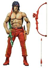 "First Blood Part II - 7"" Action Figure Rambo Classic Video Game Appearance NECA"