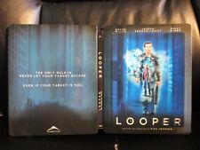 Looper FutureShop Blu-Ray Steelbook [Canada] Region A Open Mint Lenticular