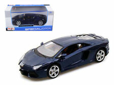 Maisto Lamborghini Aventador LP700-4 Diecast Model Car Special Edition Blue 1:24