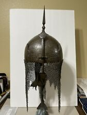 Antique Persian Kulah Khud Helmet Qajar Dynasty 1800-1875