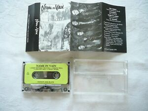 NAME IN VAIN HAIR METAL BAND DEMO TAPE 1993 FOUR SONGS