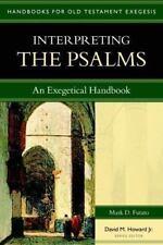 Interpreting the Psalms: An Exegetical Handbook Handbooks for Old Testament Exe