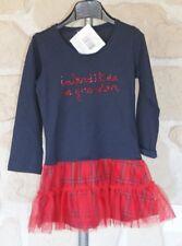 Robe bleue et rouge neuve 2 ans marque Interdit De Me Gronder