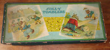 old Milton Bradley game of Jolly Tumblers