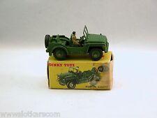 Dinky Toys 674 Austin Champ (jeep UK)  Véhicule militaire avec  Boîte  (#DkA)